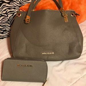 Handbags - Purse and wallet, gray